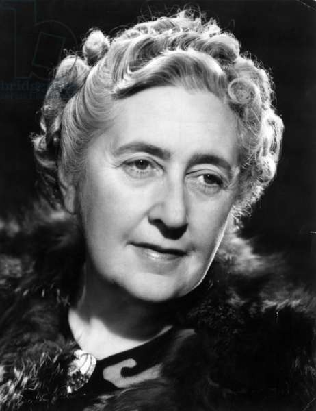 Portrait of Agatha Christie