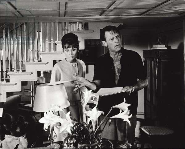William Holden and Audrey Hepburn (photo)