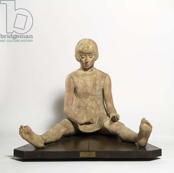 Girl Playing, 1933 (terracotta)