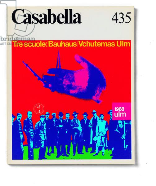 Cover of Casabella, N. 435, April 1978, 20th Century, graphic, 31 x 24,5 cm