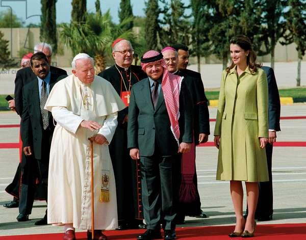 Pope John Paul II, Amman, Jordan