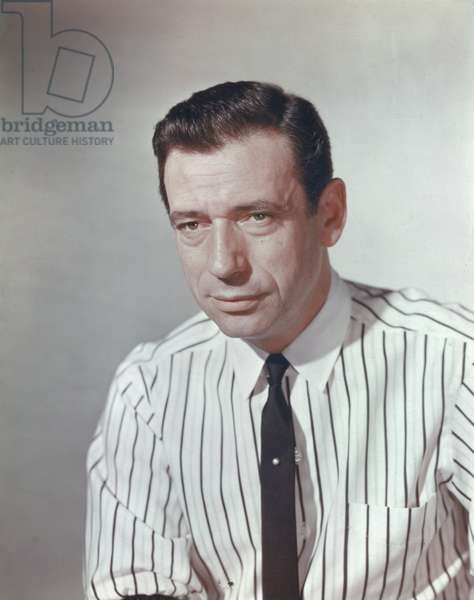 Portrait of Yves Montand
