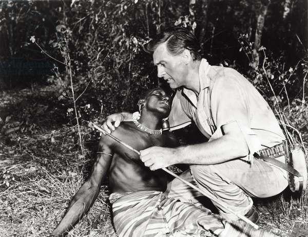 Stewart Granger, 1950 (b/w photo)