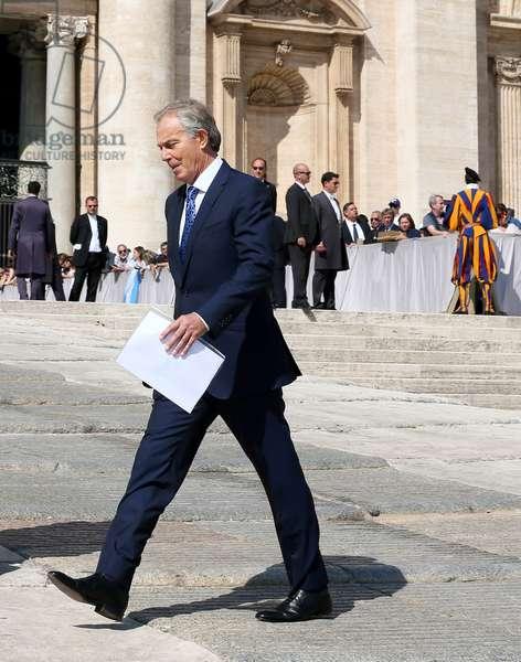 Tony Blair, Rome, Holy See, 2017 (photo)