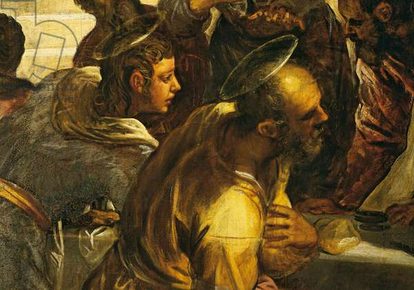 The Last Super (L'Ultima cena), by Jacopo Robusti known as Tintoretto, 1579, 16th Century, oil on canvas, 538 x 487 cm