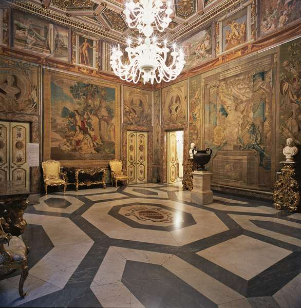 Campidoglio: Palace of the Conservators (Campidoglio: Palazzo dei Conservatori), by Michelangelo Buonarroti, 1538 - 1564, 16th Century