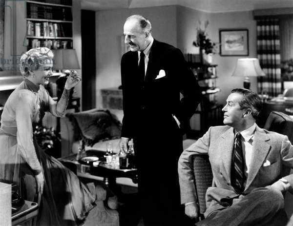 Ray Milland, Lana Turner e Louis Calhern in 'A Life of Her Own', 1950 (b/w photo)
