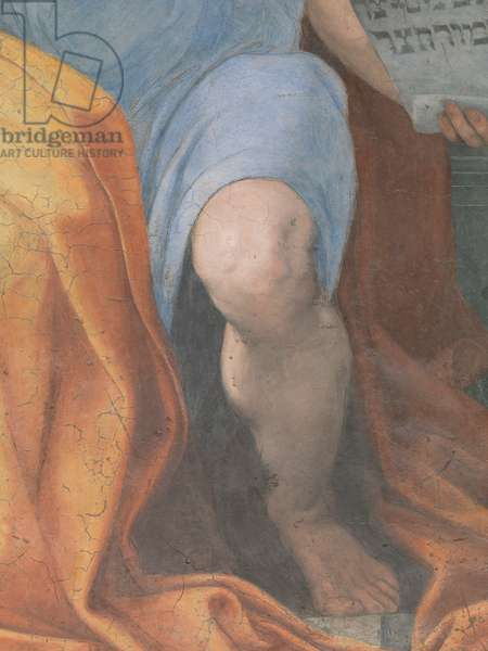 Prophet Isaiah (Profeta Isaia), by Raphael, 1511, 16th Century (fresco), 250 x 155 cm