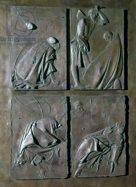 Door of the Death (Porta della morte), by Giacomo Manzù, 1958 - 1964, 20th Century, bronze, 472 x 236 cm