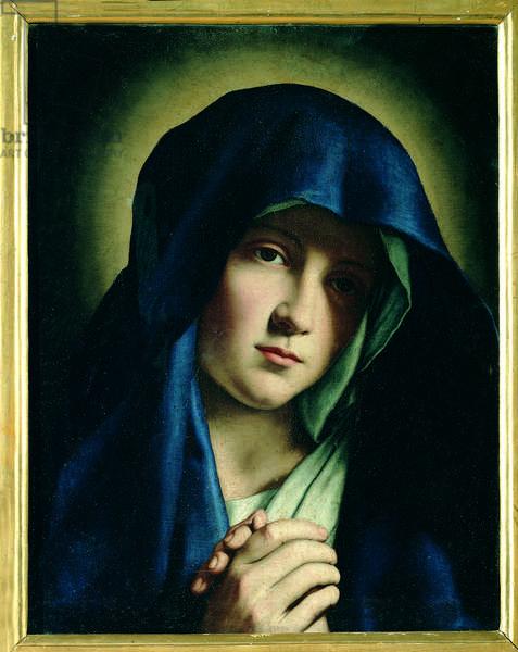 Santa Chiara, by Giovanni Battista Salvi known as il Sassoferrato, 17th Century (oil on canvas)