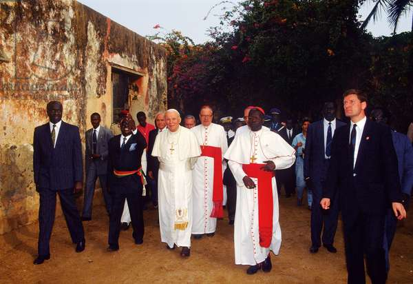 Pope John Paul II, Ile de Gorée, Senegal