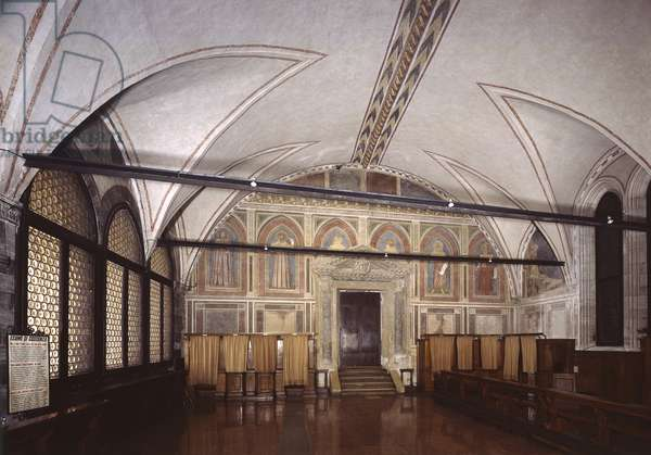 Chapter Room, by Unknown Artist of the Workshop of Giotto, 14th Century