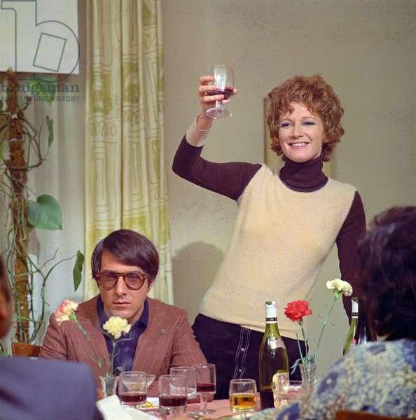 Dustin Hoffman and Carla Gravina in Alfredo, Alfredo (photo)