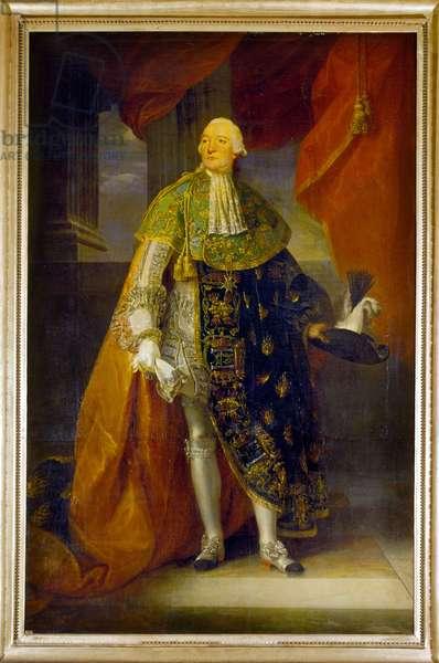 Portrait of Louis Philippe Joseph, Duke of Orleans (Portrait de Louis Philippe Joseph, duc d'Orléans), by Antoine-Francois Callet, 18th Century