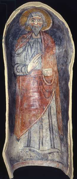 Niche with Saint, by Unknown Artist, 11th Century, fresco