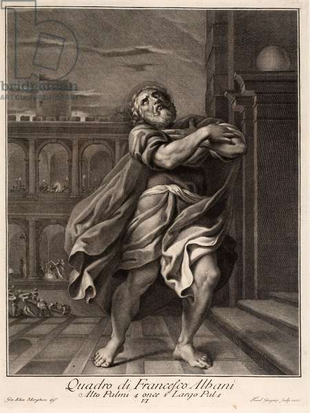 Saint Peter, 17th century (engraving)