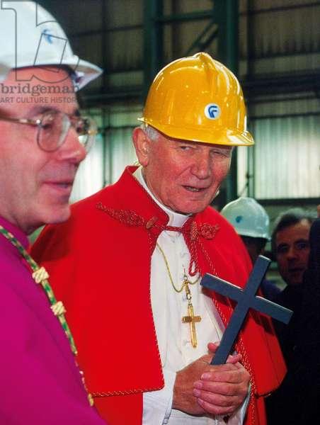 Pope John Paul II, Castellammare di Stabia, Italy
