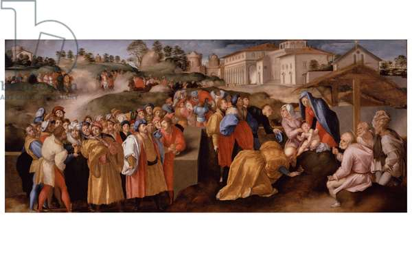 Adoration of the Magi, 1522-1523 (oil on board)