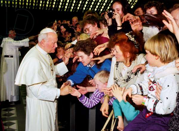 Pope John Paul II meeting the Polish community, Vatican City, Vatican City State