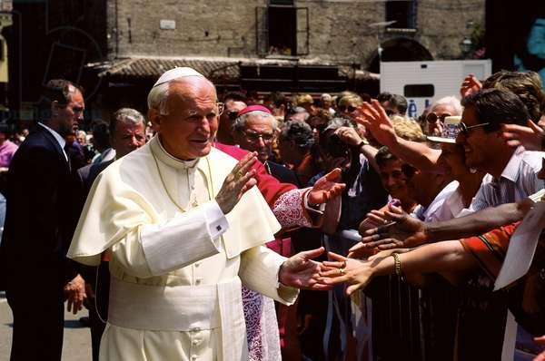 Pope John Paul II, Mantua, Italy
