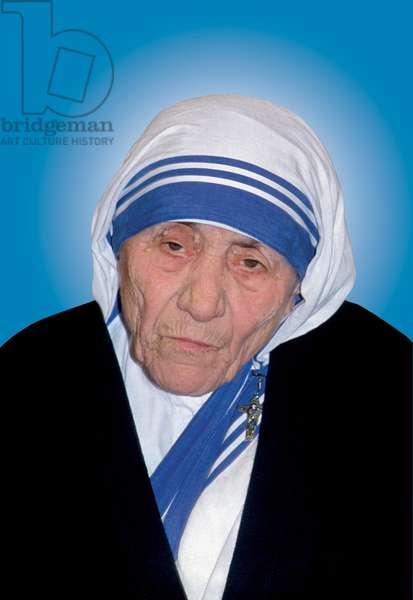 Mother Teresa of Calcutta, Vatican, 1990 (photo)