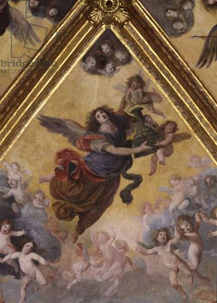 Exaltation of Christ's Passion, by Orazio Fidani, 1653, 17th Century, fresco