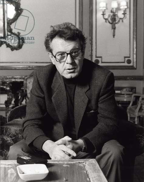 Milos Forman during an interview