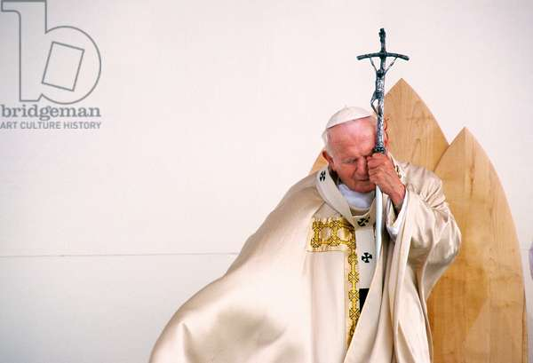 Pope John Paul II, Maribor, Slovenia