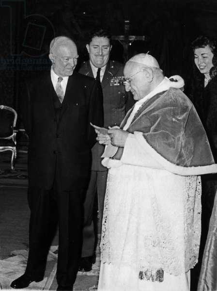 Dwight Eisenhower meeting John XXIII