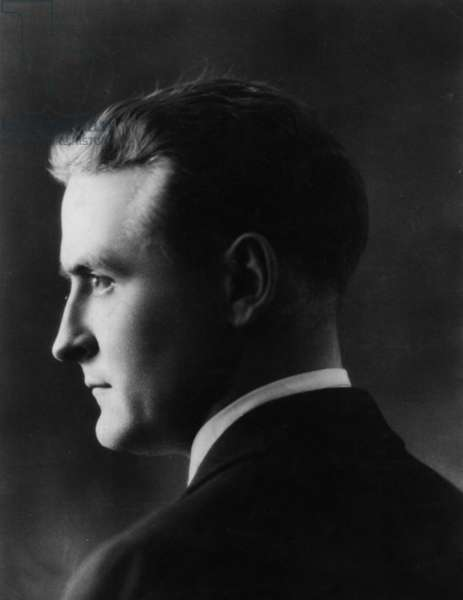 Portrait of Francis Scott Fitzgerald