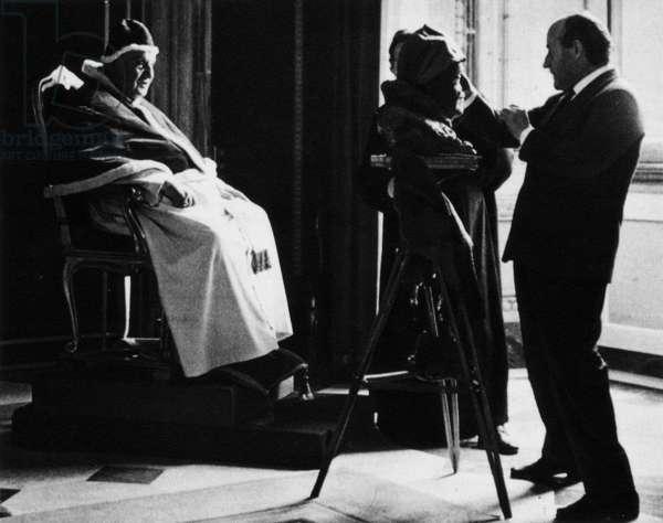 John XXIII with Giacomo Manzù