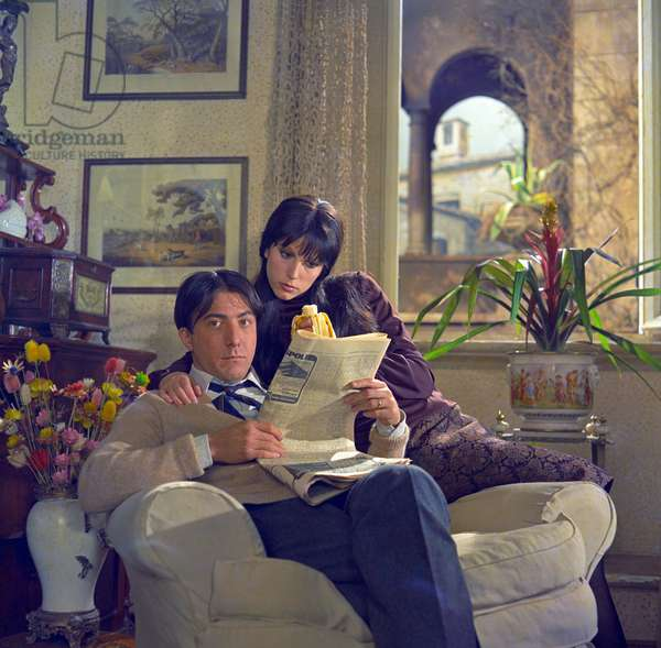 Stefania Sandrelli and Dustin Hoffman in Alfredo, Alfredo (photo)