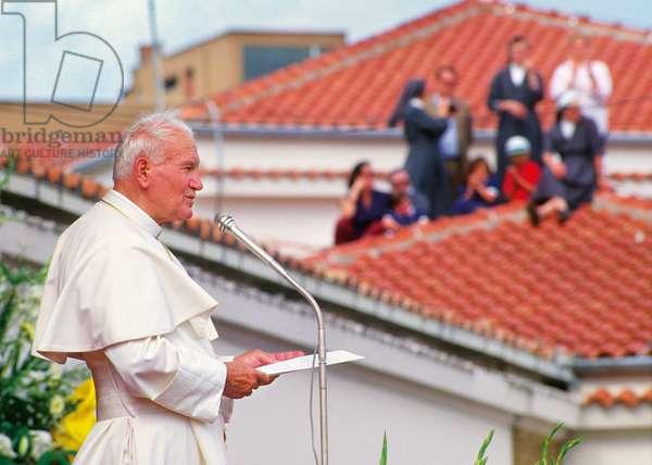 Pope John Paul II, Latina, Italy