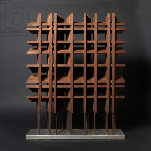 Structure no. 386, c.1957 (wood & steel)