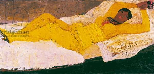 The Mulatto Girl in Yellow, 1968 (oil on masonite)