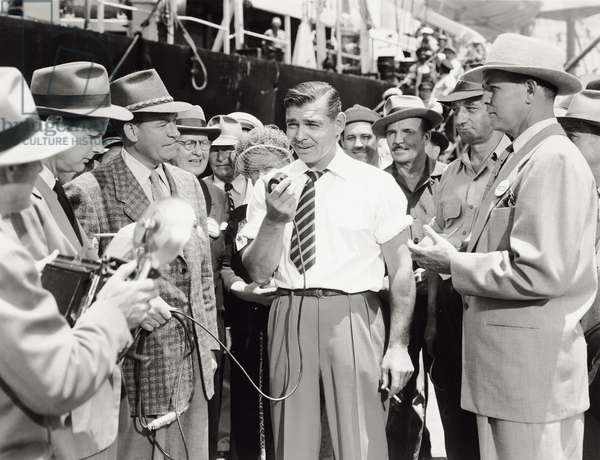 Clark Gable in 'Key to the city', 1950 (b/w photo)