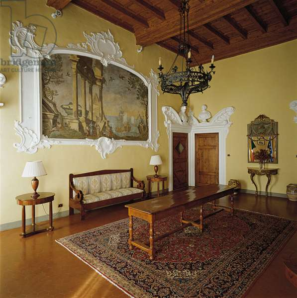 Prefecture Palace in Prato (Inghirami Palace) (Palazzo della Prefettura di Prato (Palazzo Inghirami), 15th Century