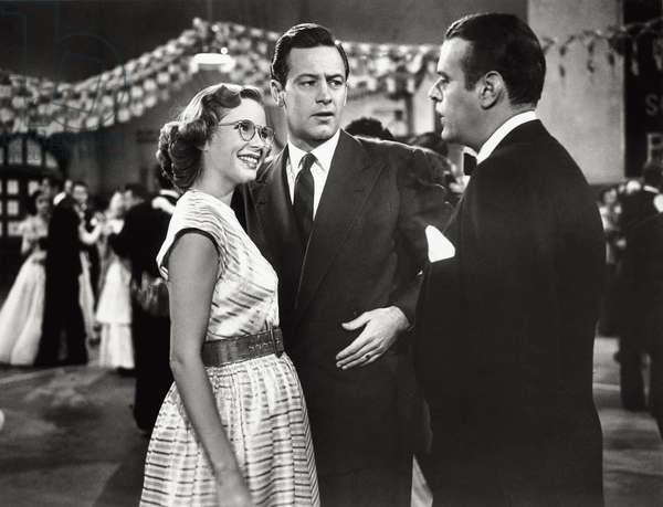 William Holden and Mona Freeman, 1949 (b/w photo)
