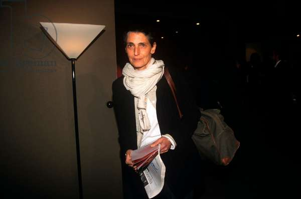 Benedetta Barzini at the Milan Fashion Week, Milan, Italy