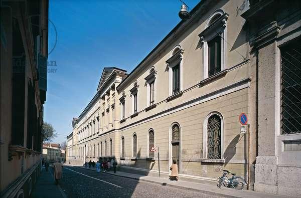 Episcopal Seminary of Mantua (Seminario vescovile di Mantova), by Giovanni Battista Vergani, 1825, 19th Century