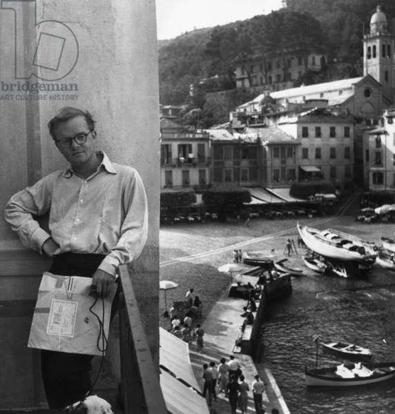 Truman Capote in Portofino, Portofino, Italy