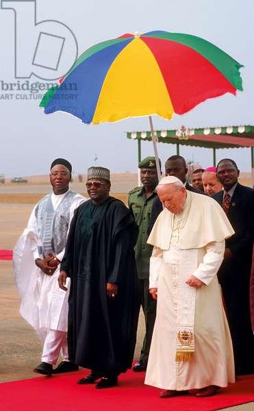Pope John Paul II in Nigeria, Nigeria