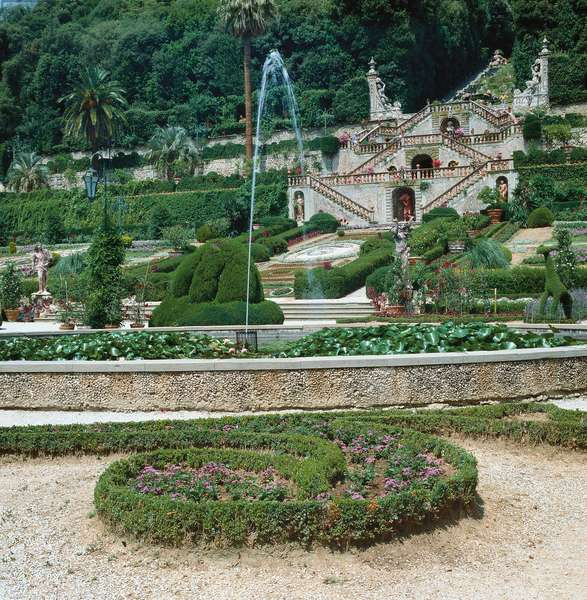 Villa Garzoni Gardens, 17th Century