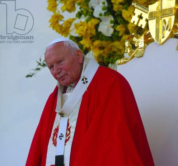 Pope John Paul II, Lowicz, Poland
