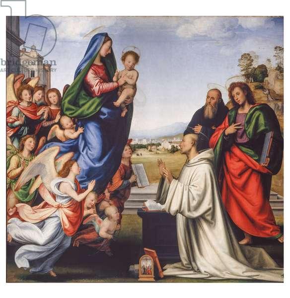 The Vision of St. Bernard, 1504-1507 (oil on board)
