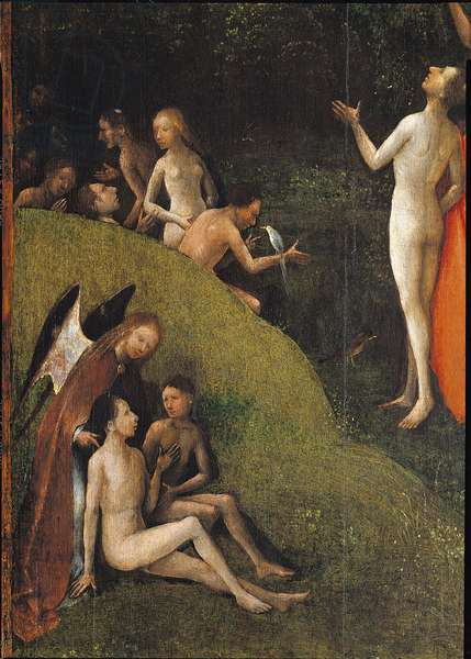 Visions of the Hereafter, detail of the Paradise, 1500-04 (oil on board)