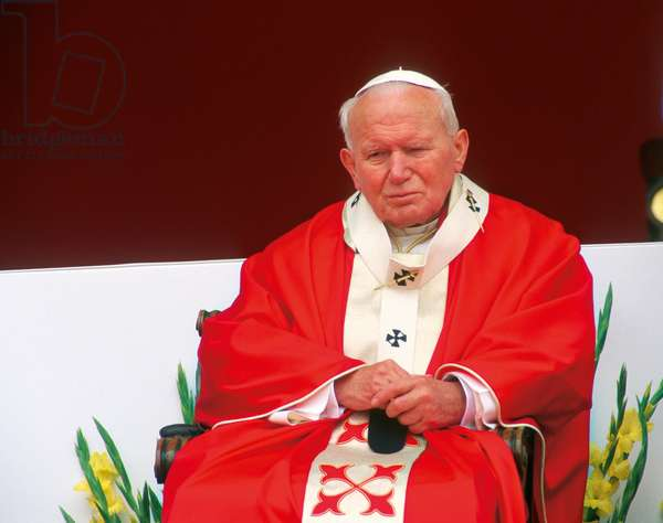 Pope John Paul II, Hradec Kralove, Czech Republic