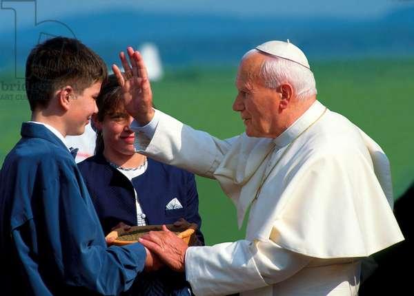 Pope John Paul II, Ljubljana, Slovenia