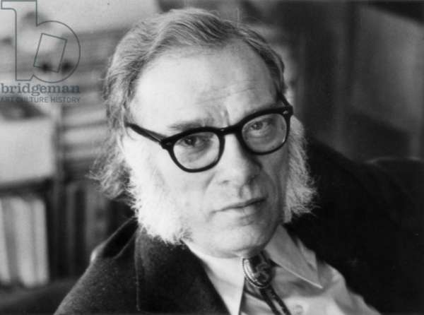 Portrait of Isaac Asimov, United States