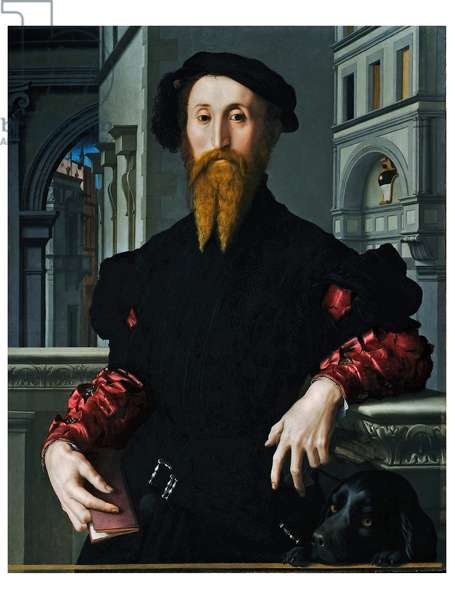 Portrait of Bartolomeo Panciatichi, 1540 (oil on panel)